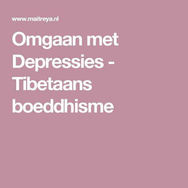Omgaan met Depressies - Tibetaans boeddhisme
