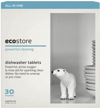 Ecostore Dishwasher Tablets - These are the best low tox dishwasher tablets that I have found and they are available in Woolworths.