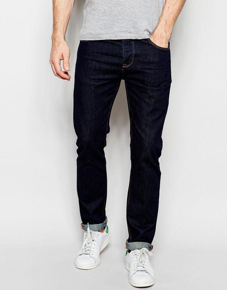 Image 1 ofASOS Slim Jeans In Indigo