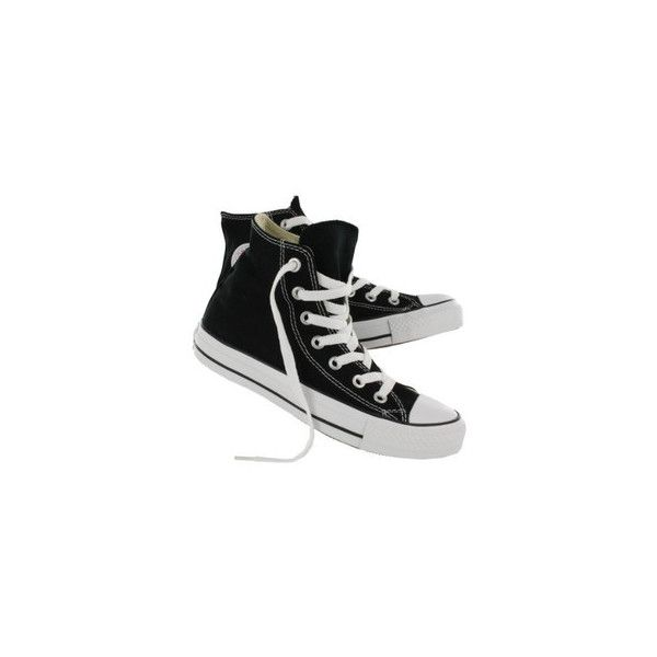 Converse Unisex Chuck Taylor Core High Tops - Denim Kings via Polyvore