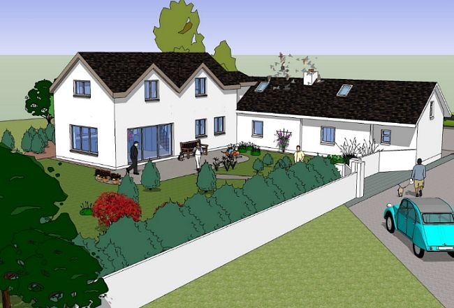 2 storey extension to single storey cottage - Google Search