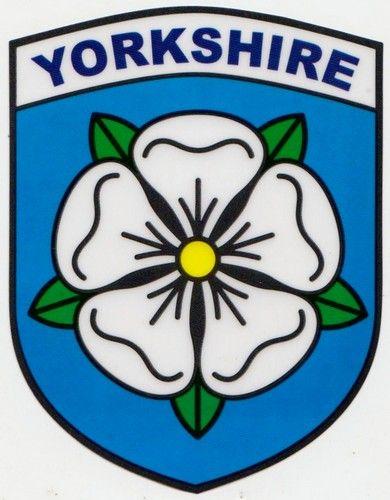 Yorkshire county emblem.