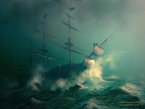Seascape Digital Paintings by Andy Simmons | Cuded