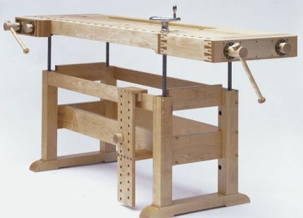 This Versatile Workbench Was A Commissioned Piece The