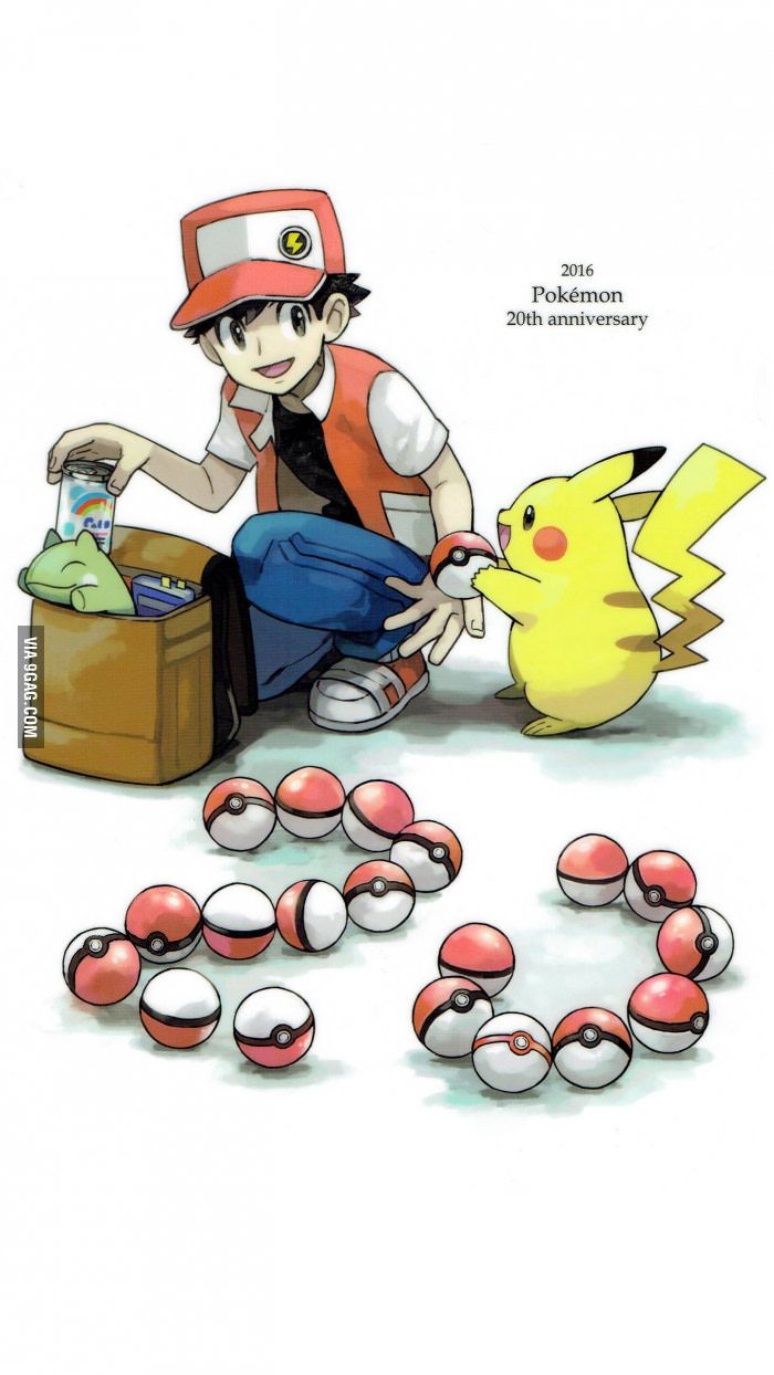 20 years! I'm really hoping for a new Pokemon RPG game this year - 9GAG
