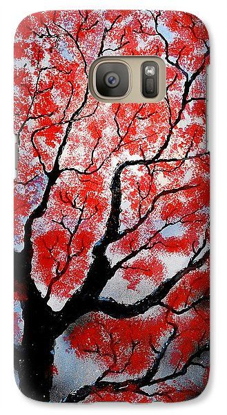 Spring Galaxy S7 Case Printed with Fine Art spray painting image Spring by Nandor Molnar (When you visit the Shop, change the orientation, background color and image size as you wish)