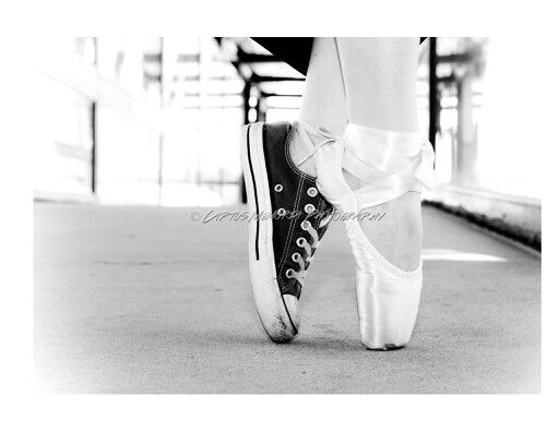 Combat boot and pointe