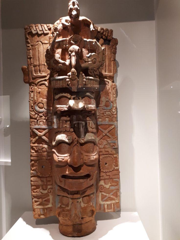 Dios Sol Jaguar (GIII) Maya, Portaincensario