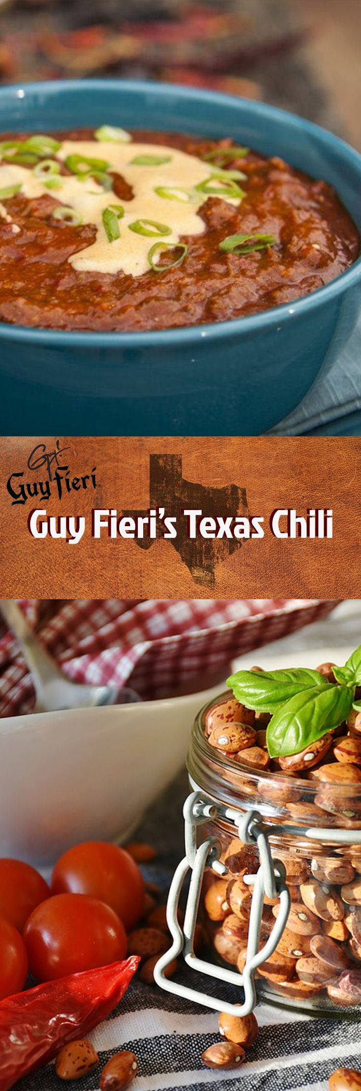 Make this Texas Chili by the infamous Guy Fieri.