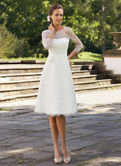 StandesamtAbendkleider In Short Kurze Kleider 2019 Lace Weiße PuiOkXZT