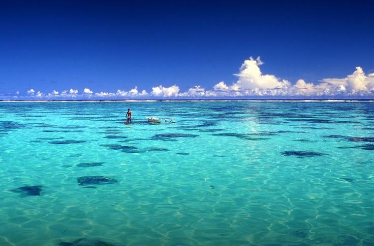 Bora Bora, I did not think to see a beach like .. but .. I felt it lived Angra dos reis ...!