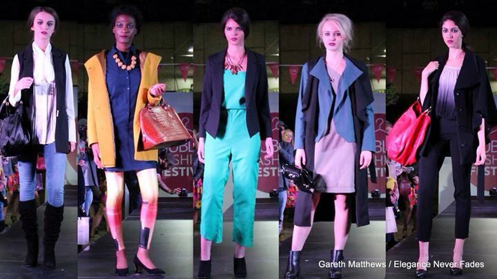 Office wear styles from Dff fashion show styled by the design house
