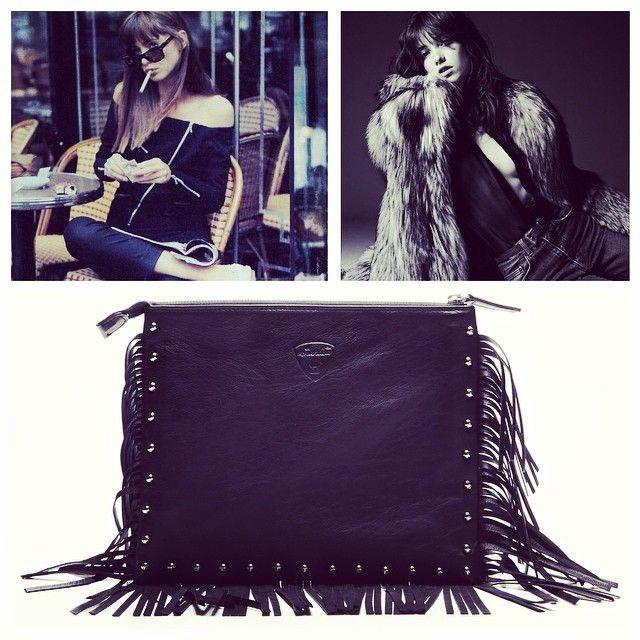 GIANLISA Patti Folk Fringes and Studs Bag #handmade #craftsmanshio #madeinitaly #leathergoods #folk #rock #gianlisa www.gianlisa.com