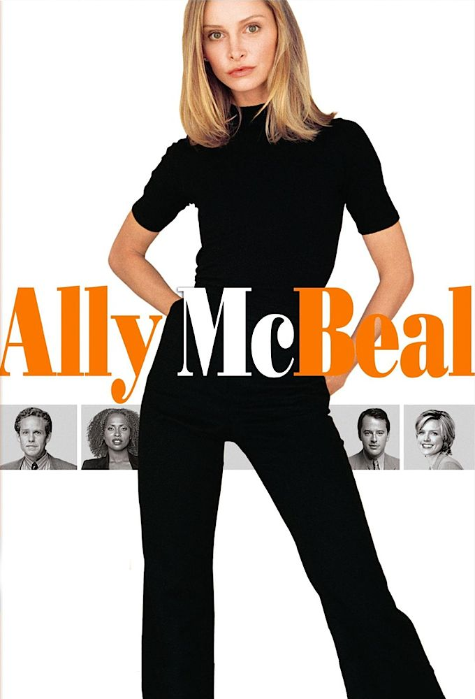 Ally McBeal - American tv show about a worryingly thin female lawyer