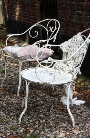 French Outdoor Garden Chairs