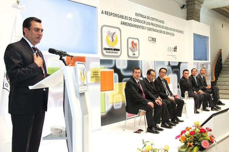 En coordinación con la Escuela de Administración Pública del DF y el INAP, se realizó con éxito la capacitación y certificación de la 1ra Generación de Compradores del Gobierno de la Ciudad de México.