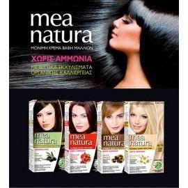Mea Natura N.6.34 Ξανθό Σκούρο Χρυσαφί Χάλκινο Βαφή Μαλλιών 60ml