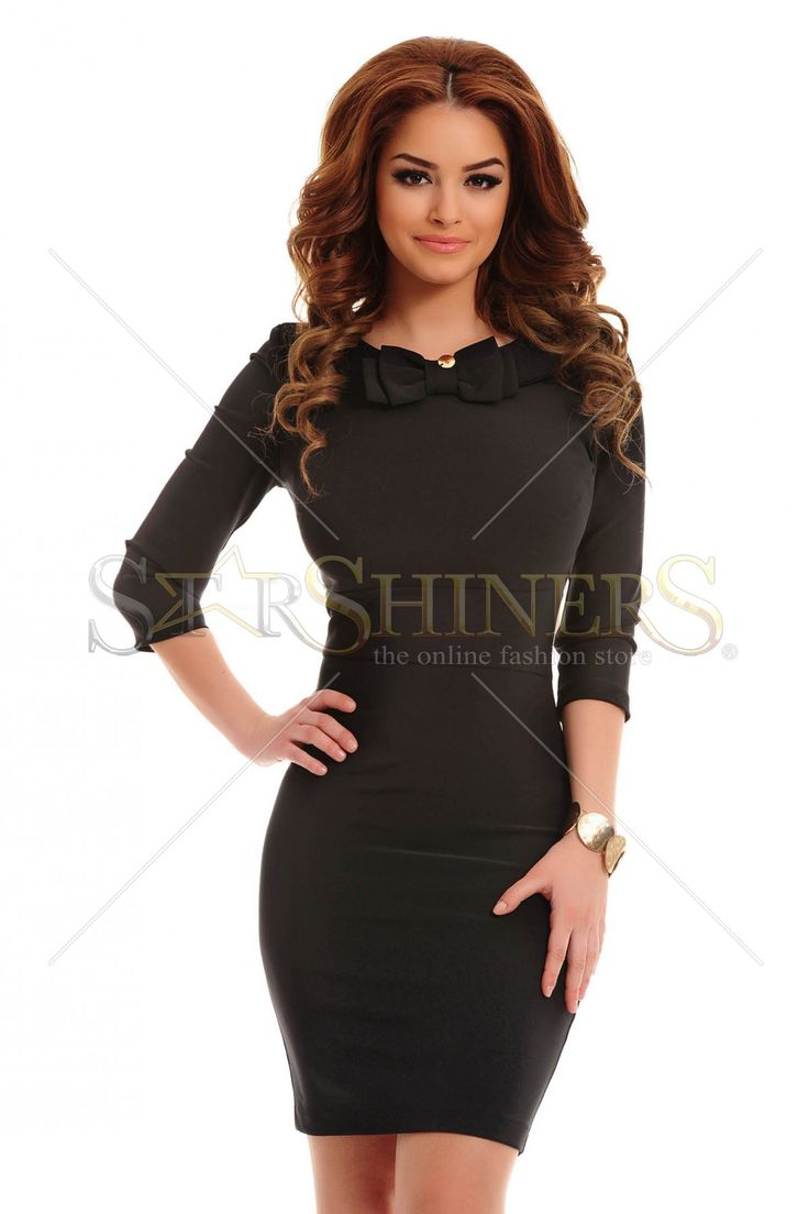 PrettyGirl Vanity Black Dress