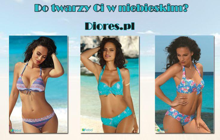 🌞👙⛱Wakacje... plaża... słońce...odpoczynek...🌞👙⛱Zamiast marzyć trzeba zacząć planować. Zacznijcie od odpowiedniego stroju. Może w tym roku niebieski?  Zobaczcie nasze stroje na www.diores.pl #strójkąpielowy #strójnaplażę #strójdopływania #naplażę #nabasen #kostumkąpielowy #bielizna #sklepzbielizną #bikini #tankini