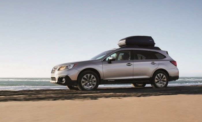 The 2015 Subaru Outback won the 2015 Best Wagon for the Money Award | Subaru's Chicago Auto Show awards