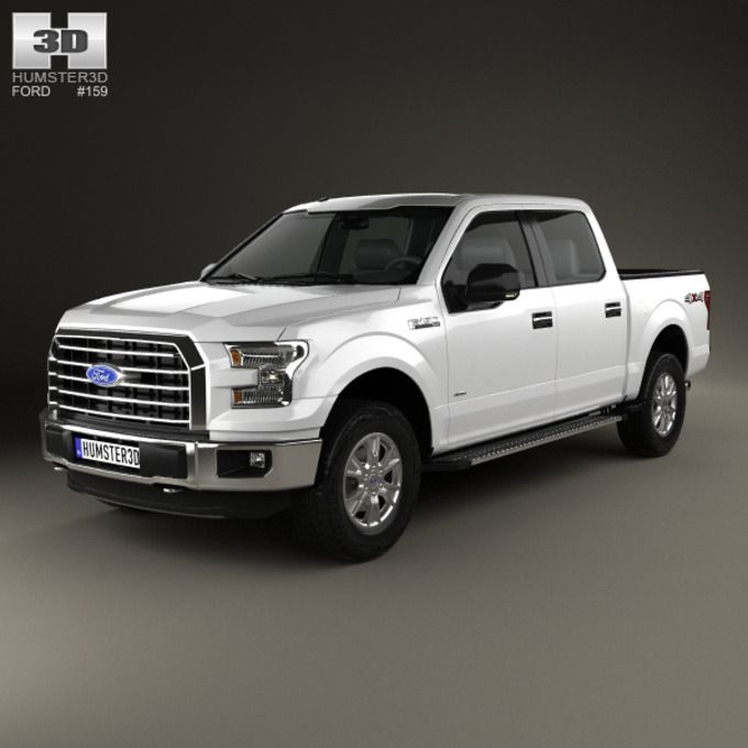Ford F-150 Super Crew Cab XLT 2014 by humster3d on Creative Market