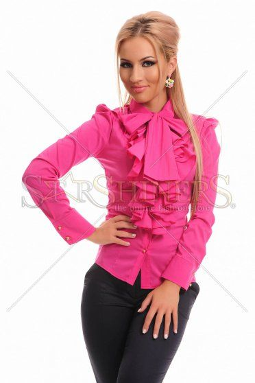PrettyGirl Frill Guts Pink Shirt