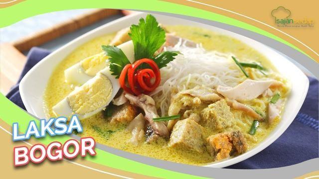 Video Resep Laksa Bogor Sekarang Enggak Perlu Jauh Jauh Ke Bogor Lagi Deh Resep Masakan Resep Masakan Malaysia Makanan