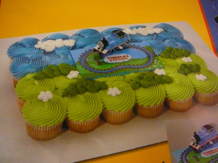 Best  Thomas Cupcakes Ideas On Pinterest Train Cupcakes - Thomas birthday cake images