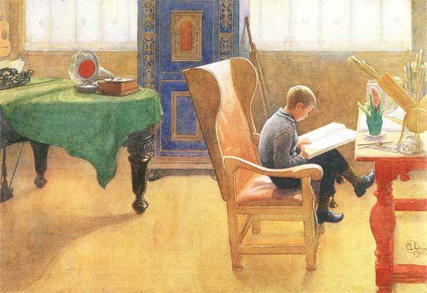 The Corner Study   Carl Larsson