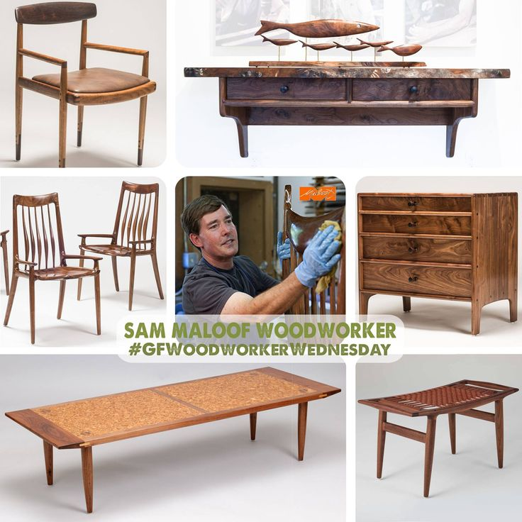 General Finishes Featured Woodworker - Sam Johnson of Sam Maloof Woodworker