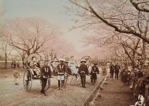Photographer Unknown X 4 Yokohama Park, Japan, 1870