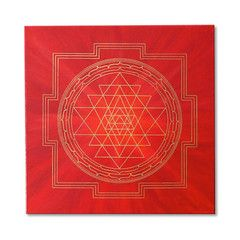 The Sri Yantra Meditation Mat