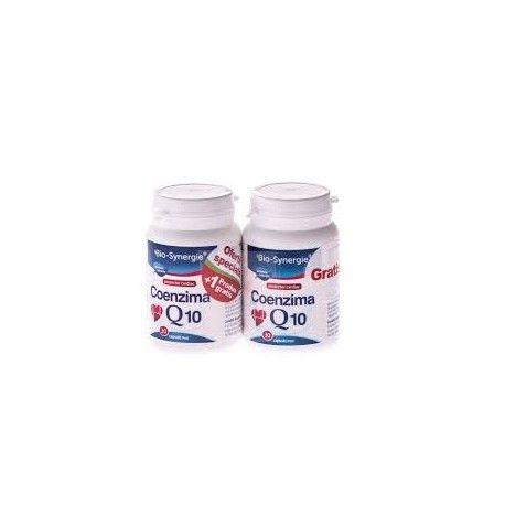 COENZIMA Q10 OFERTA SPECIALA 1 FLACON + 1 GRATUIT! COENZIMA Q10 ajuta sanatatea inimii si este un bun antioxidant