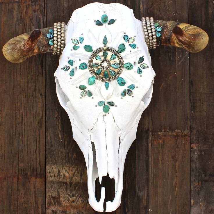 Bull skull ideas on pinterest bespoke turquoise and faux taxidermy