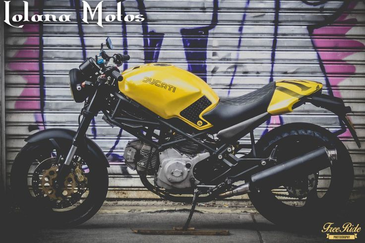 LM#60 Black & Yellow Ducati M600 1995