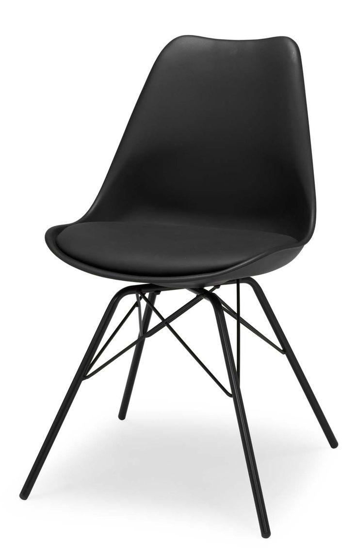 Stol Porgy stol i snygg design. Använd som matstol eller skrivbordsstol, välj…
