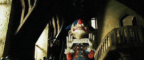 AKI GIFS: 10 Gifs de palhaços assustadores.