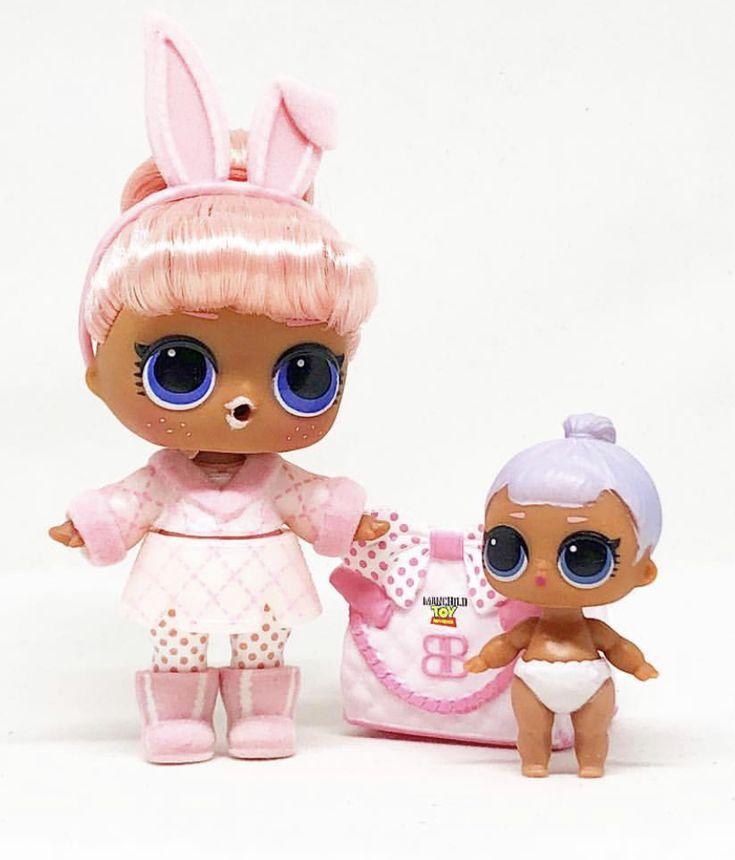 Snow Bunny Amp Lil Snow Bunny 🐰 Hairgoals Lol Surprise