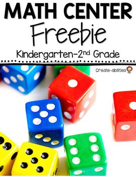 FREE Clear the Board Place Value Center - Use this 8 page resource to help your Kindergarten, 1st, and 2nd grade students mater place value and addition. These math centers will work great in the classroom or for homeschool! You'll get a math center game, center signs, and the game board. Click through to download your FREEBIE today! {Kinder, first, and second graders}