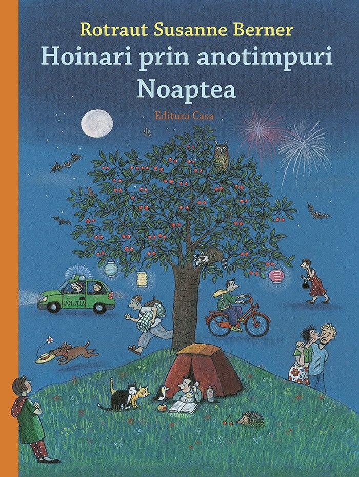 Copiii descoperă și se familiarizează cu universul fascinant al nopții.