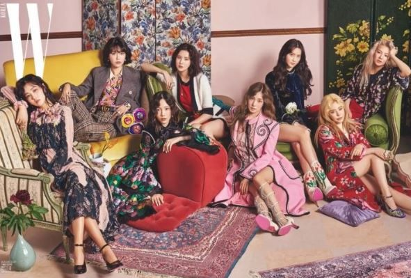 Girl's Generation Featured On 'W' Magazine For Their 10th Anniversary! | Koogle TV