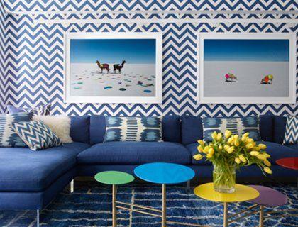 Дизайнер Джонатан Адлер оформил для себя и своего партнера дом, который заряжает хозяев оптимизмом и зимой, и летом.