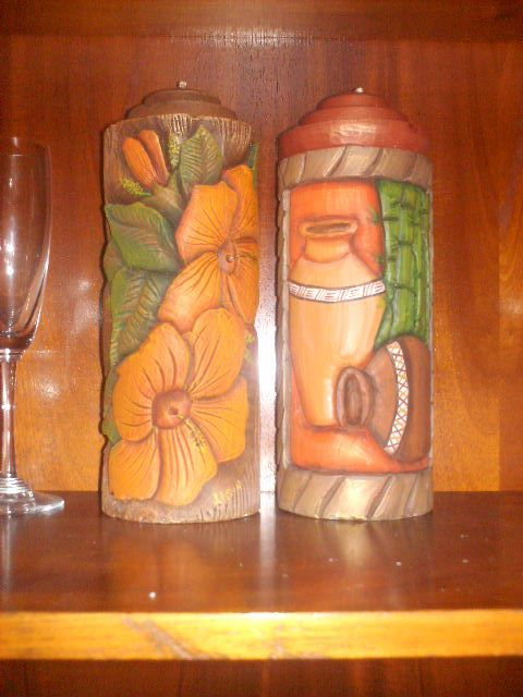 CARVED CANDLES, VELAS TALLADAS