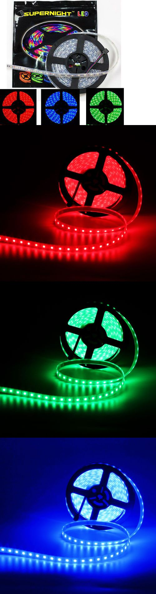 String Lights Fairy Lights 116022: 1 2 5 10Pcs 16.4Ft 300Leds 5050 Smd Rgb Led Strip Light Silicone-Tube Waterproof -> BUY IT NOW ONLY: $106.9 on eBay!
