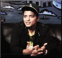 brunosfirstgorilla:  IMAGINE Interviewer: Is (Y/N) a good kisser? Bruno: (gif)  Of course you are. ;)
