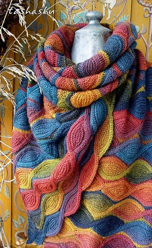 Autumn palette pattern by Svetlana Gordon