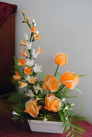 :)would love to make these flowers.