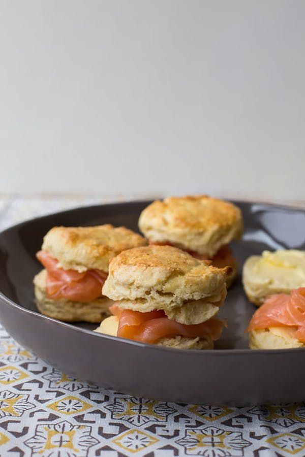 smokedsalmon salmon pastries 27 easy and elegant bridal shower recipes purewow food dinner recipe cooking smokedsalmon irishscones scones