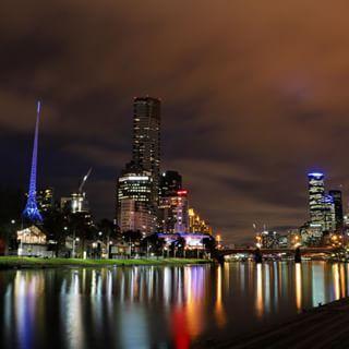 Wednesday night lights  #melbourneiloveyou #visitvictoria #visitmelbourne #victoria #seeaustralia @australia @unimelb