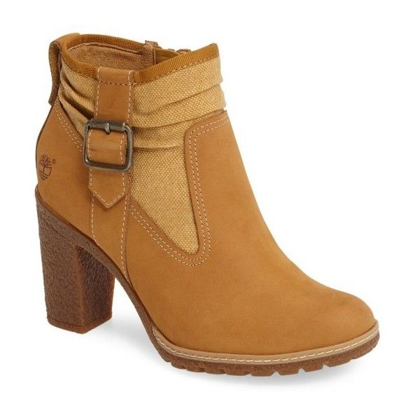 Women's Timberland Glancy Boot (345 BRL) ❤ liked on Polyvore featuring shoes, boots, lug sole shoes, timberland boots, lug sole boots, timberland footwear and timberland shoes